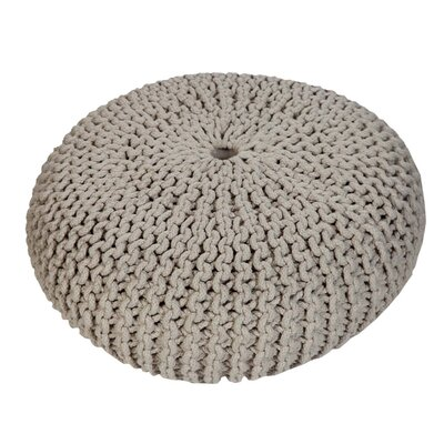 Alvina Pouf Upholstery: Light Gray