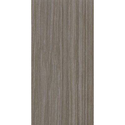 Classico Glazed 12 x 24 Porcelain Field Tile in Charcoal