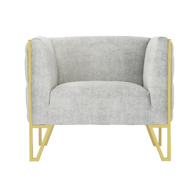 Lebel Armchair Upholstery: Gray