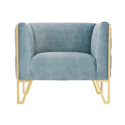 Lebel Armchair Upholstery: Ocean Blue