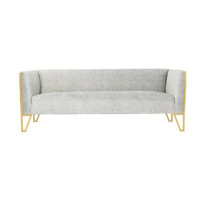 Lebel Standard Sofa Upholstery: Gray