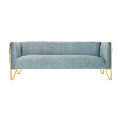 Lebel Standard Sofa Upholstery: Ocean Blue