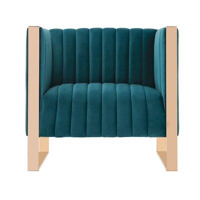 Layden Armchair Upholstery: Teal