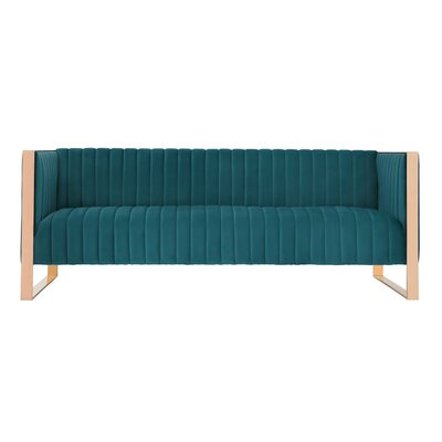 Layden Sofa Upholstery: Teal