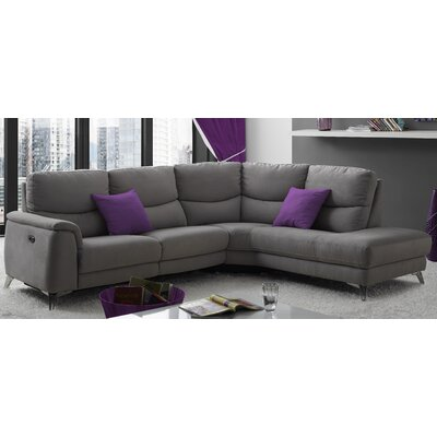 Marble Hill Reclining Sectional Orientation: Right Hand Facing