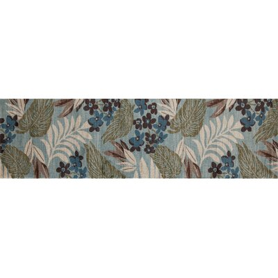 Lynbrook Blue/Brown Area Rug Size: Runner 22 x 81