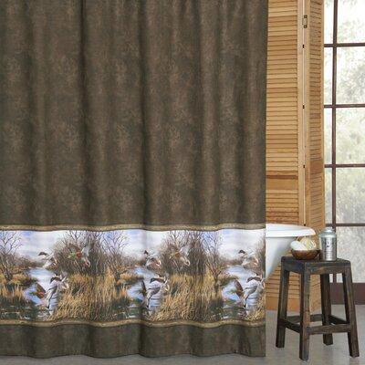 Talbott Duck Approach Cotton Shower Curtain