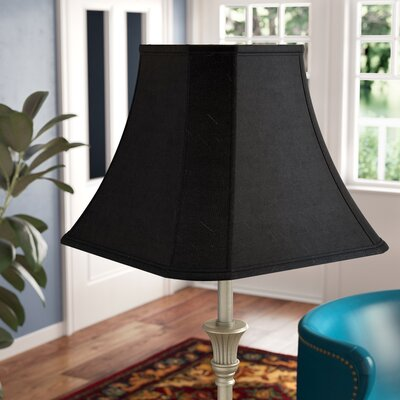 Modern Classics 16 Fabric Bell Lamp Shade Color: Black