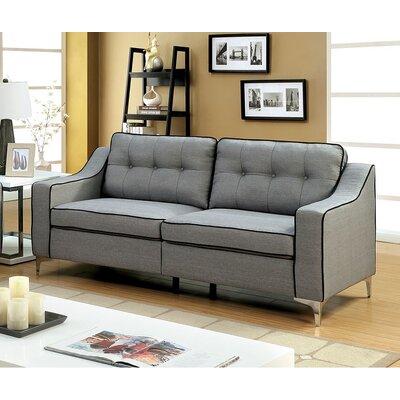 Glendora Sofa Upholstery : Gray