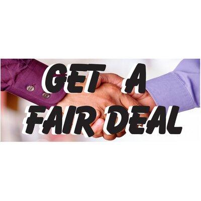 Deals Banner Size: 30 H x 72 W x 0.25 D