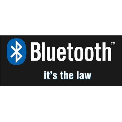 Bluetooth Banner Size: 30 H x 72 W x 0.25 D
