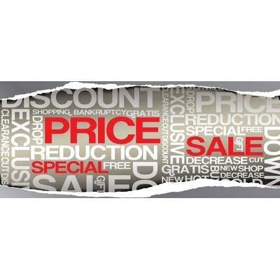 Super Sale Banner Size: 30 H x 72 W x 0.25 D