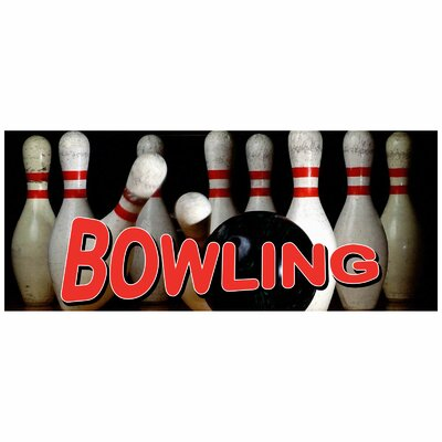 Bowling Banner Size: 30