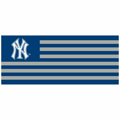 New York Yankees Banner Size: 30 H x 72 W x 0.25 D