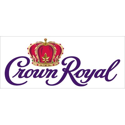 Crown Royal Banner Size: 30 H x 72 W x 0.25 D