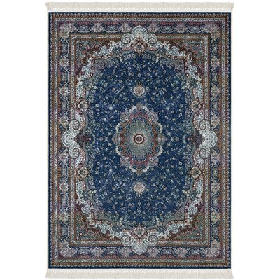 Rudder Blue/Brown Area Rug