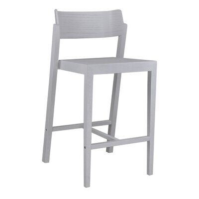 Maas 25.5 Bar Stool Color: White