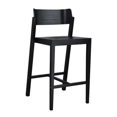 Maas 25.5 Bar Stool Color: Black
