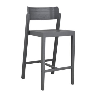 Maas 25.5 Bar Stool Color: Gray