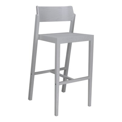 Sinclair 29 Bar Stool Color: White