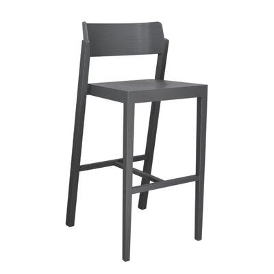 Sinclair 29 Bar Stool Color: Gray