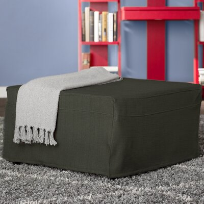 Standard Folding Bed with Mattress Color: Basil Green
