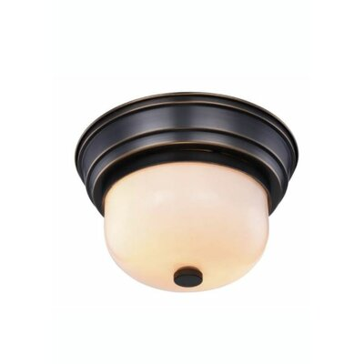 Brys 2-Light Flush Mount Finish: Bronze