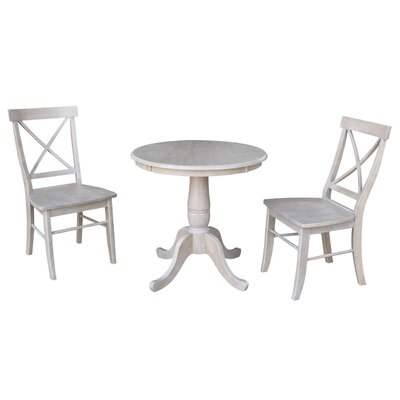 Qunitero 3 Piece Dining Set