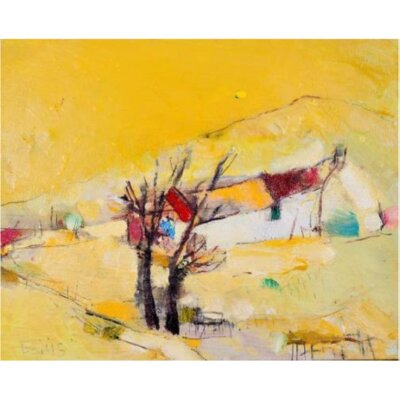 'Abstract' Oil Painting Print on Canvas 055802459B944789B37405B8EF6F26F5