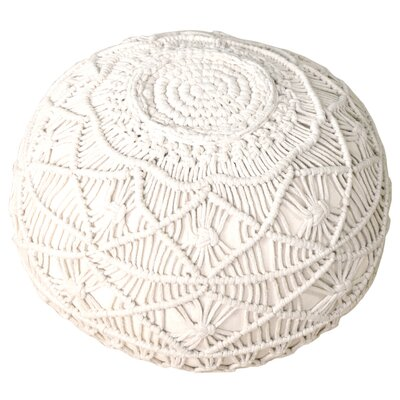 Potts Macrame Pouf