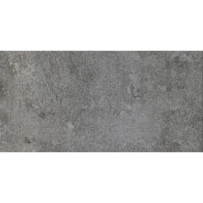 Eternal Glazed Rectified 12 x 24 Porcelain Field Tile in Antracite