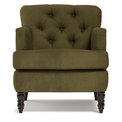 Suzanne Armchair Upholstery: Green