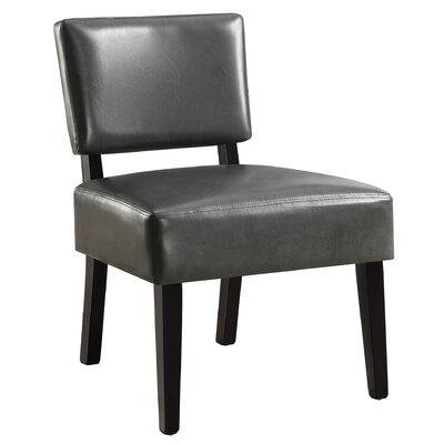Dykstra Slipper Chair Upholstery: Charcoal