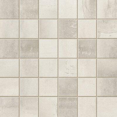 Steelwalk 2 x 2 Porcelain Mosaic Tile in Beige