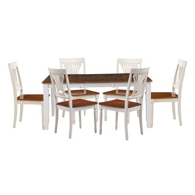 Wahl 7 Piece Extendable Dining Set