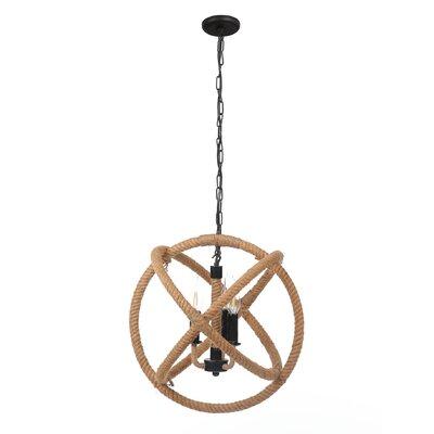 Reese 3-Light Globe Pendant