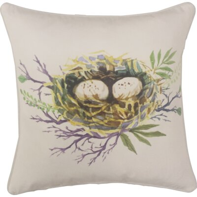 Hillenbrand Spring Nest Indoor/Outdoor Throw Pillow