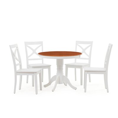 Heier 5 Piece Dining Set