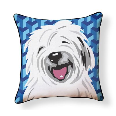 Duren Sheepdog Indoor/Outdoor Throw Pillow