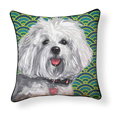 Duren Havanese Indoor/Outdoor Throw Pillow