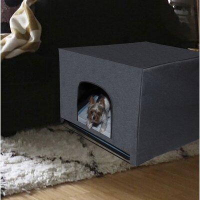 Pro Pawty Litter Box Enclosure Size: 25 H x 25 W x 25 D, Color: Charcoal