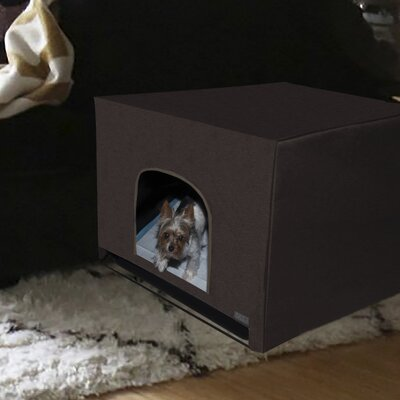 Pro Pawty Litter Box Enclosure Size: 25 H x 25 W x 25 D, Color: Espresso