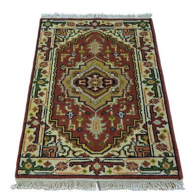 One-of-a-Kind Kempinski Serapi Heriz Oriental Hand-Knotted Area Rug