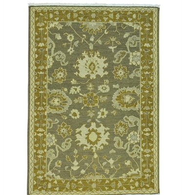 Soumak Flat Weave Oriental Hand-Knotted Gray Area Rug