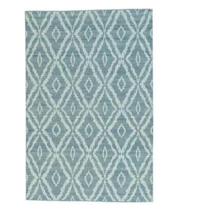 Reversible Flat Weave Kilim Oriental Hand-Knotted Cotton Gray Area Rug
