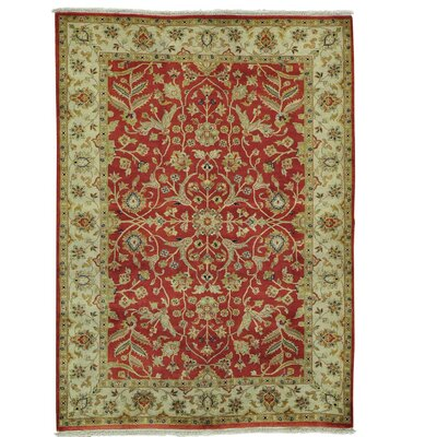 One-of-a-Kind Samons Revival 300 KPSI Oriental Hand-Knotted Area Rug