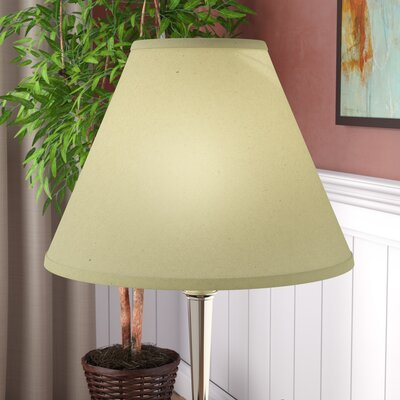 Hardback 18 Linen Empire Lamp Shade Color: Champagne