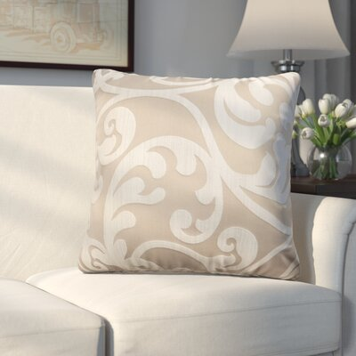 Chalfont Throw Pillow Color: Beige