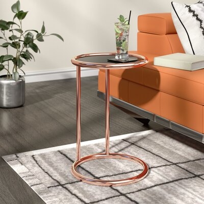 Arlo End Table Color: Rose Gold