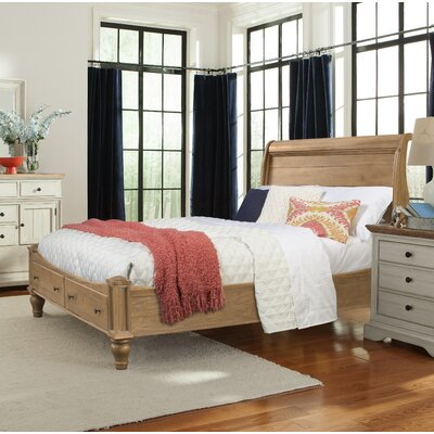 Allgood Sleigh Storage Bed